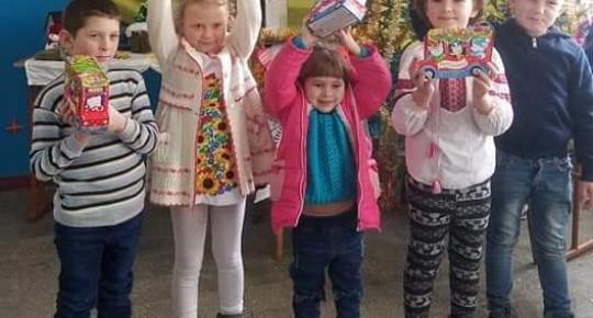 Вітання дітям від UTAGRO